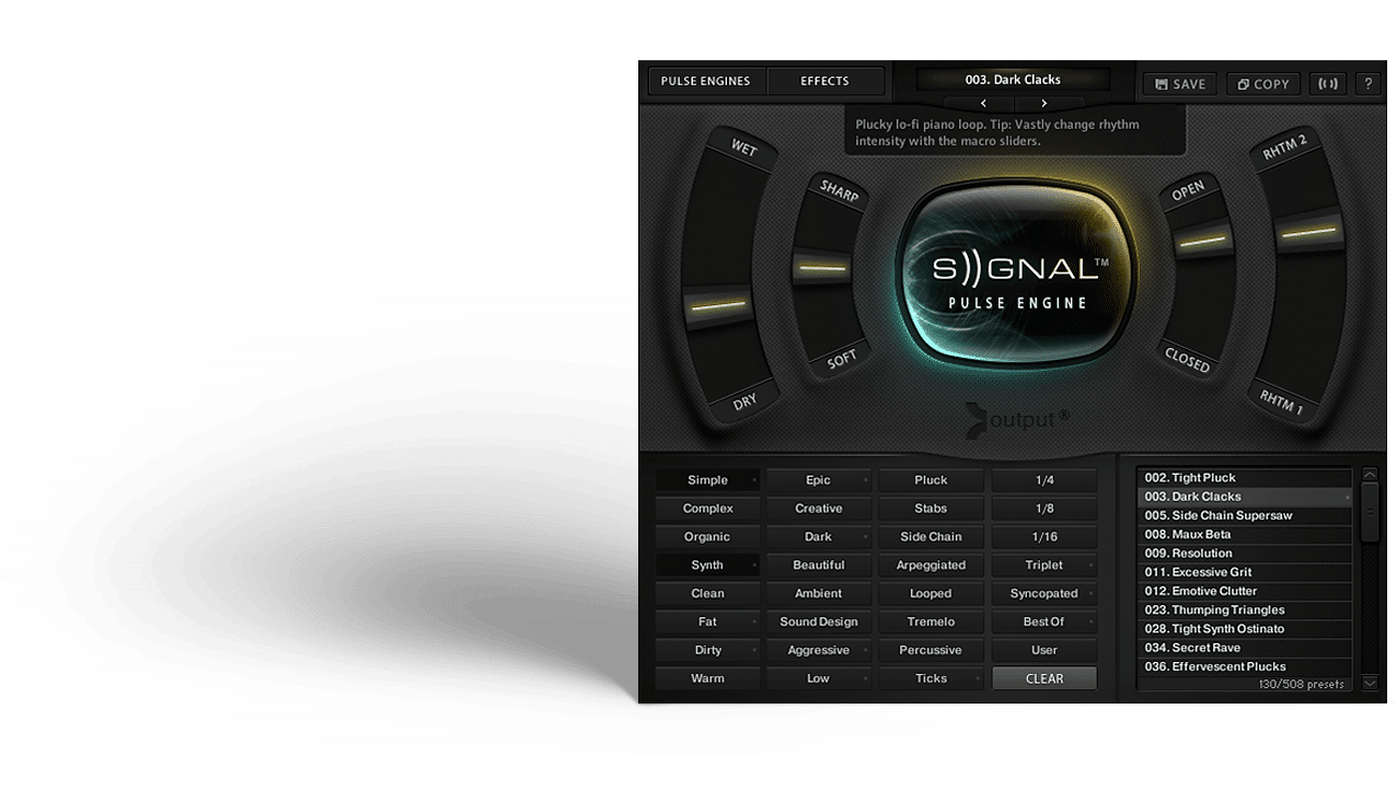 Signal By Output   The World's Most Powerful Pulse Engine