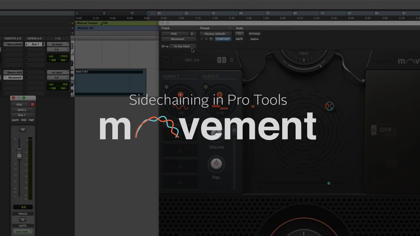 sidechaining with pro tools_banner image