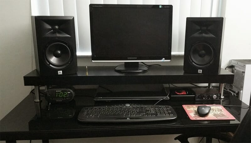 home studio desk design. ikea hack desk OUTPUT FAVORITES  Studio Desks Output