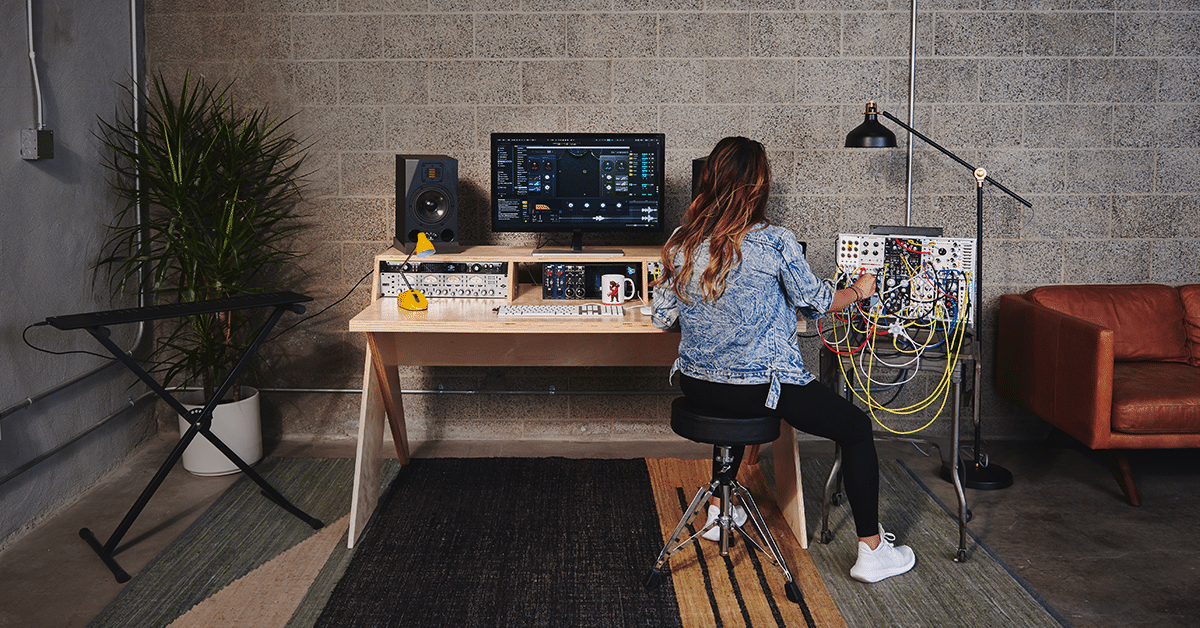 Platform By Output A Studio Desk For Musicians