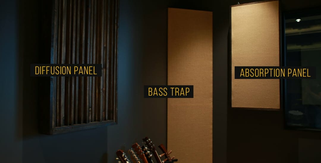 Output Home Studio Acoustic Treatments Diffusion Panel Bass Trap Absorption  Panel